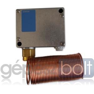 Siemens QAF81.3 Légoldali fagyvédő termosztát, kapilláris cső 3 m