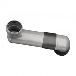 Haas vízszintes lapos WC bekötőív zsugorcsővel DN90/110