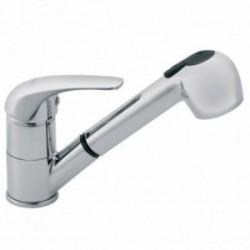 Ferro VASTO álló mosogató csaptelep kihúzható zuhanyfejjel