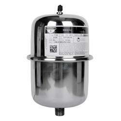 Zilmet INOX-Pro fix membrános hidrofor tartály, 2 l, 10 bar, álló