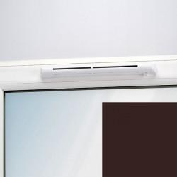 Aereco EHM 1284 Önszabályzó, automata higroérzékelős légbevezető, nem lezárható, gesztenye