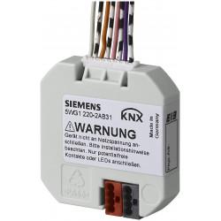 Siemens QMX3.P02 KNX helyiség kezelő hőmérséklet érzékelővel, érintőgombokkal, LED kijelzővel