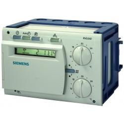 Siemens RVD120-A Hőközponti szabályozó légtér fűtés és HMV készítéshez