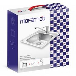 Mofém GO EVO 1B mosogatótálca + Mofém PRO mosogató csaptelep