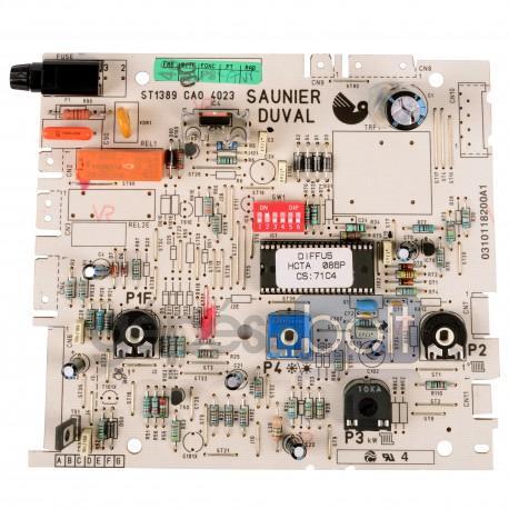 Saunier Duval Vezérlő panel C23 57346