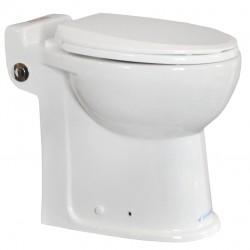 Sanipump Prestige 55 kerámiával egybeépített darálós WC