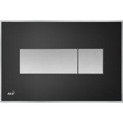 Alcaplast M1374 Fekete nyomólap akrilüveg berakással