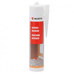 Würth sziloplaszt / szilikon acetát átlátszó 310 ml