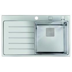 Teka Zenit 86 1B 1D balos rozsdamentes acél (fényes) mosogatótálca