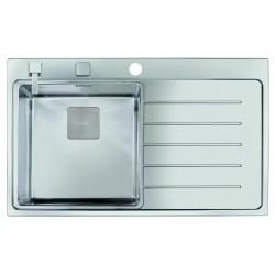 Teka Zenit 86 1B 1D jobbos rozsdamentes acél (fényes) mosogatótálca