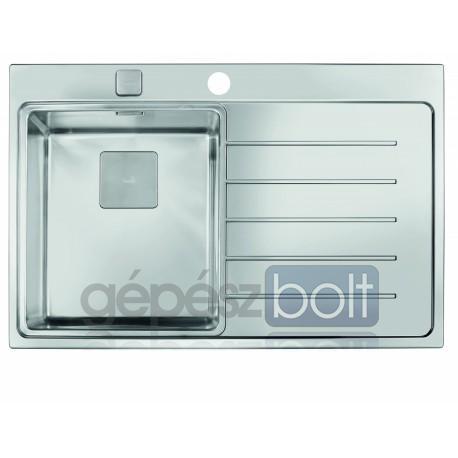 Teka Zenit 78 1B 1D jobbos rozsdamentes acél mosogatótálca tartozékokkal 780 x 520 mm