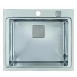Teka Zenit 1B rozsdamentes acél mosogatótálca tartozékokkal 600 x 520 mm