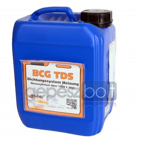 BCG TDS Folyékony tömítőanyag napi 1000 liter feletti vízveszteségig 2,5 L