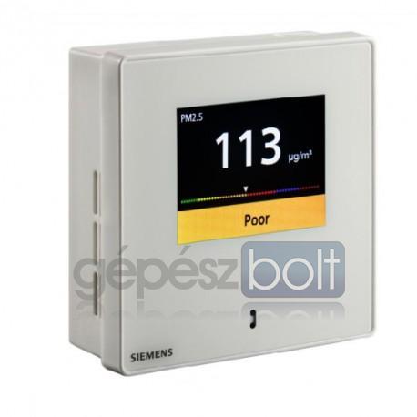 Siemens QSA2700D Finom por érzékelő  LCD kijelzővel PM2.5 és PM10 méréséhez