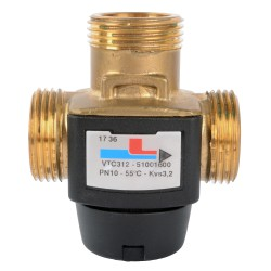 """ESBE VTC312 Termikus töltő szelep 55°C 1"""" km kvs 3,2"""