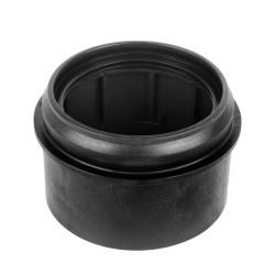 Haas PE hegeszthető tokos végződés fali WC csatlakozóívhez