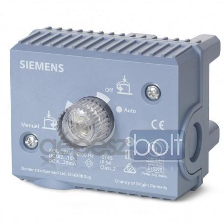 Siemens ASE1 Elektronika MXF461... szelepekhez, DN15…DN32 méretekhez