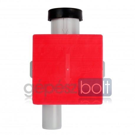 Hutterer & Lechner HL138 Klímaszifon falba süllyesztve DN32 - 100 x 100 mm