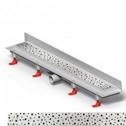 Mofém Linear Sarokba építhető zuhanylefolyó