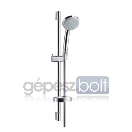 Hansgrohe Croma 100 Vario Zuhanyszett  65 cm-es zuhanyrúddal és szappantartóval
