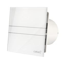 Cata E-100G szellőztető ventilátor fehér üveg