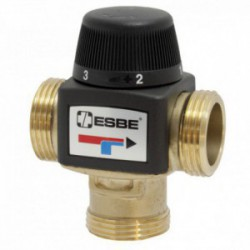 """ESBE VTA372 Termosztatikus keverőszelep 30-70°C külső 1"""" kvs 3,4"""