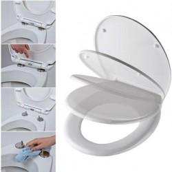 WC ülőke Duroplast fehér lecsapódásmentes zsanérral