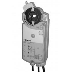 Siemens GIB166.1E Forgató zsalumozgató AC 24 V/DC 0…10 V, 35 Nm, 150 s, 2 kapcsoló