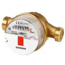 "Siemens WFW30.E130 Vízmennyiségmérő egysugaras meleg Qn 2.5 m³/h 130 mm G1"""