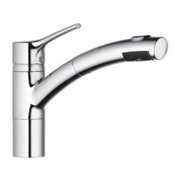 Kludi Trendo mosogató csaptelep kihúzható zuhanyfejjel