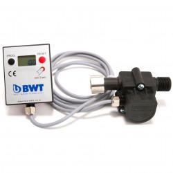 "BWT AquaMeter highflow 3/8"" LCD vízóra a MM vízszűrő berendezéshez"