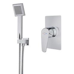 Teka Itaca Combo Süllyesztett 1 utas zuhany csaptelep zuhanyszettel