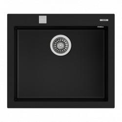 Teka Forsquare 50.40 TGF fekete gránit mosogató 570 x 500 mm