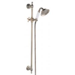 Ferro Retro Old Bronze zuhanyszett állítható zuhanytartóval