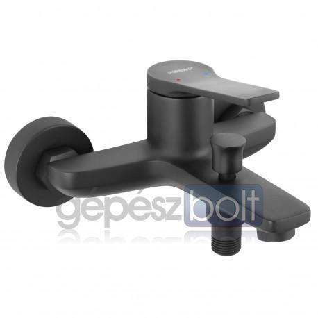 Ferro Stratos Black kádtöltő csaptelep zuhanyszett nélkül