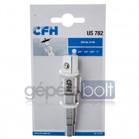 "CFH UNI US 782 Lépcsőskulcs racsnihoz 3/8"" 1/2"" 3/4"" 1"""